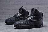 Зимние мужские ботинки 31831, Nike LF1 Duckboot (TOP AAA), черные, [ 42 ] р. 42-27,0см., фото 2