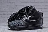 Зимние мужские ботинки 31831, Nike LF1 Duckboot (TOP AAA), черные, [ 42 ] р. 42-27,0см., фото 4