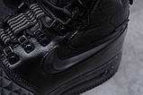 Зимние мужские ботинки 31831, Nike LF1 Duckboot (TOP AAA), черные, [ 42 ] р. 42-27,0см., фото 6
