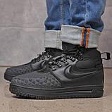 Зимние мужские ботинки 31831, Nike LF1 Duckboot (TOP AAA), черные, [ 42 ] р. 42-27,0см., фото 9