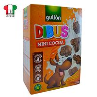 Печенье Gullon Dibus mini cacao 250г