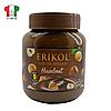 Шоколадная паста с фундуком Erikol 400мл