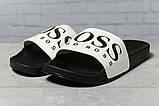 Шлепанцы мужские 17362, Boss Hugo Boss, черные, [ 42 ] р. 42-26,8см., фото 2
