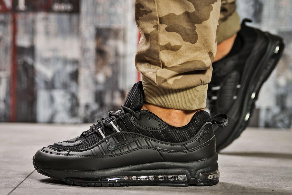 Кроссовки мужские 12671, Nike Aimax Supreme, черные, [ 43 46 ] р. 43-27,3см.