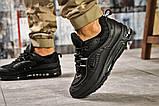 Кроссовки мужские 12671, Nike Aimax Supreme, черные, [ 43 46 ] р. 43-27,3см., фото 4
