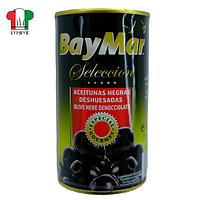 Маслины Baymar ж/б б/к 370г/150г