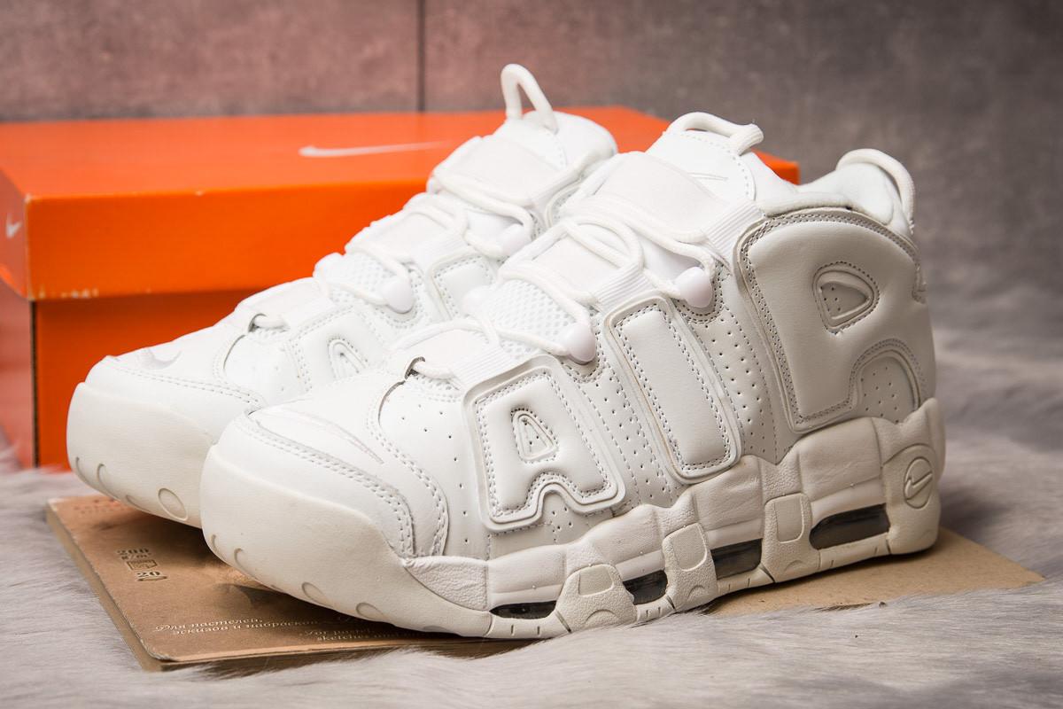 Кроссовки мужские 15213, Nike Air Uptempo, белые, [ 44 ] р. 44-28,7см.