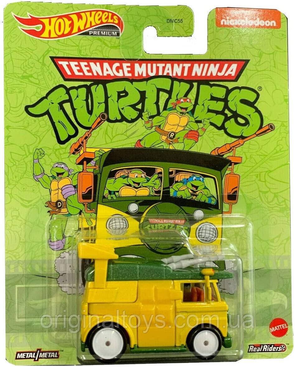 Коллекционная машинка Hot Wheels Mutant Ninja Turtle Party Wagon