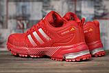 Кроссовки женские 17007, Adidas Marathon Tn, красные, [ 36 39 ] р. 36-22,5см., фото 4