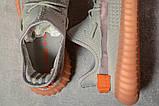 Кроссовки мужские 17551, Adidas Yeezy, серые, [ 43 ] р. 43-27,5см., фото 5