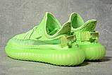 Кроссовки женские 17563, Adidas Yeezy, зеленые, [ 39 ] р. 39-25,0см., фото 4