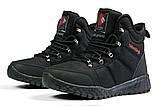 Зимние мужские кроссовки 31232, Columbia Waterproof, черные, [ 42 43 ] р. 42-27,5см., фото 8