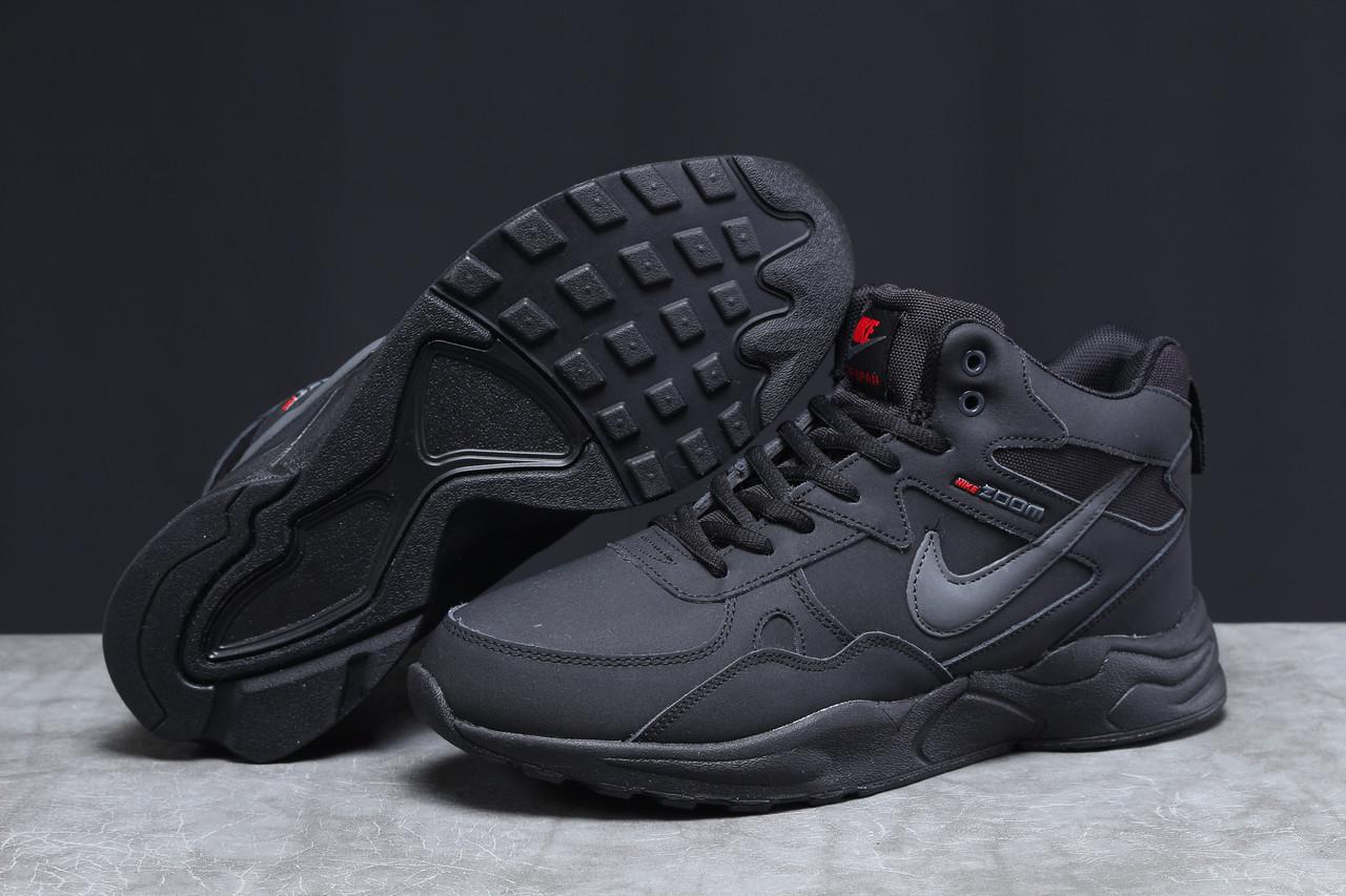 Зимние мужские кроссовки 31314, Nike ZooM Air Span, черные, [ нет в наличии ] р. 42-27,1см.