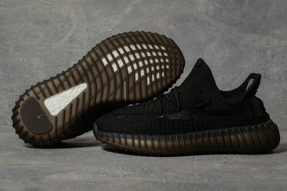 Кроссовки женские 17566, Adidas Yeezy, черные, [ 38 ] р. 38-24,5см.