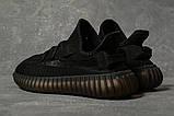 Кроссовки женские 17566, Adidas Yeezy, черные, [ 38 ] р. 38-24,5см., фото 4