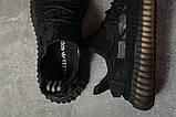 Кроссовки женские 17566, Adidas Yeezy, черные, [ 38 ] р. 38-24,5см., фото 5