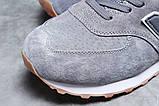Зимние мужские кроссовки 31394, New Balance  574 (мех), серые, [ 43 46 ] р. 43-27,7см., фото 4