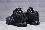 Зимние мужские кроссовки 31424, Adidas Climaproof (мех), черные, [ нет в наличии ] р. 41-26,3см., фото 3