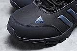 Зимние мужские кроссовки 31424, Adidas Climaproof (мех), черные, [ нет в наличии ] р. 41-26,3см., фото 4