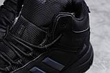 Зимние мужские кроссовки 31424, Adidas Climaproof (мех), черные, [ нет в наличии ] р. 41-26,3см., фото 5