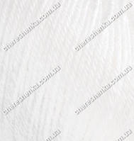 Нитки Alize Baby Wool 55 белый