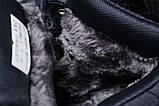 Зимние женские кроссовки 31464, Nike Air AF1 (мех), темно-синие, [ нет в наличии ] р. 38-24,5см., фото 6