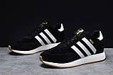 Зимние мужские кроссовки 31662, Adidas Iniki, черные, [ 41 ] р. 41-25,3см., фото 2