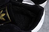 Зимние мужские кроссовки 31662, Adidas Iniki, черные, [ 41 ] р. 41-25,3см., фото 6