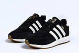 Зимние мужские кроссовки 31662, Adidas Iniki, черные, [ 41 ] р. 41-25,3см., фото 7