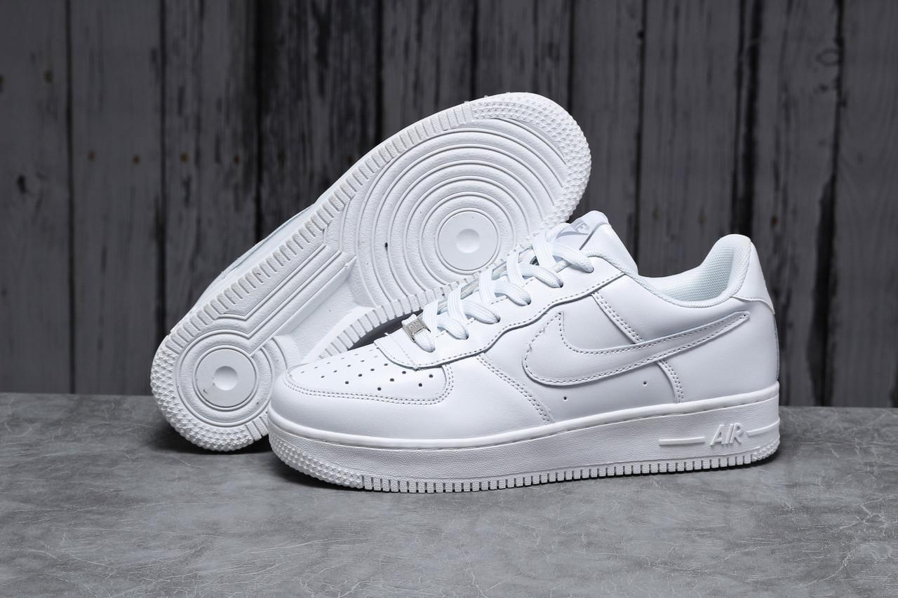 Кроссовки мужские 18061, Nike Air, белые, [ 41 42 43 44 45 46 ] р. 41-26,7см.