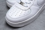 Кроссовки мужские 18061, Nike Air, белые, [ 41 42 43 44 45 46 ] р. 41-26,7см., фото 4