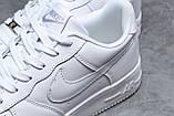 Кроссовки мужские 18061, Nike Air, белые, [ 41 42 43 44 45 46 ] р. 41-26,7см., фото 5