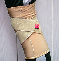 Фіксатор колінного суглоба Grande GS-440 L/XL, еластичний наколінник компресійний   фиксатор для колена