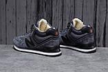 Зимние мужские кроссовки 31632, New Balance  574, темно-серые, [ нет в наличии ] р. 44-28,3см., фото 3