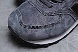 Зимние мужские кроссовки 31632, New Balance  574, темно-серые, [ нет в наличии ] р. 44-28,3см., фото 4