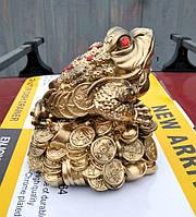 Статуэтка Денежная Жаба большая, размер 14 * 13 см, фото 1