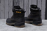 Зимние мужские ботинки 30547, CAT Caterpilar Anti-Glide  (мех), черные, [ нет в наличии ] р. 42-28,0см., фото 3