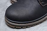 Зимние мужские ботинки 30547, CAT Caterpilar Anti-Glide  (мех), черные, [ нет в наличии ] р. 42-28,0см., фото 4