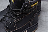 Зимние мужские ботинки 30547, CAT Caterpilar Anti-Glide  (мех), черные, [ нет в наличии ] р. 42-28,0см., фото 5