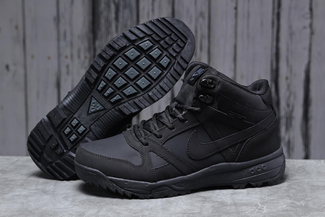 Зимние мужские кроссовки 31701, Nike Air ACG, черные, [ 41 42 43 45 ] р. 41-26,3см.