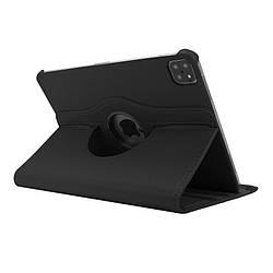 """Кожаный чехол книжка для iPad Pro 12.9"""" (2020) черный"""