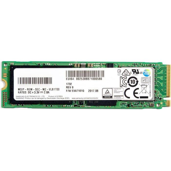 M.2 NVMe 256Gb Samsung PM991 (MZVLQ256HAJD) , б/у