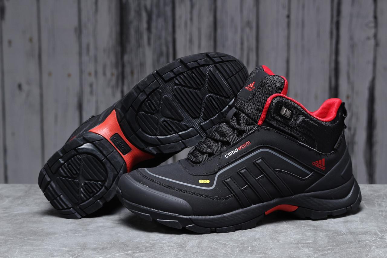 Зимние мужские кроссовки 31712, Adidas Climawarm 350, черные, [ 42 43 ] р. 41-26,4см.