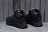 Зимние мужские кроссовки 31721, Puma, черные, [ 42 46 ] р. 42-26,5см., фото 3