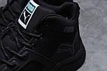 Зимние мужские кроссовки 31721, Puma, черные, [ 42 46 ] р. 42-26,5см., фото 5