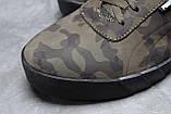 Зимние мужские кроссовки 31694, Puma Desierto Sneaker, хаки, [ 40 42 43 44 45 ] р. 40-26,0см., фото 4