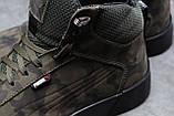 Зимние мужские кроссовки 31694, Puma Desierto Sneaker, хаки, [ 40 42 43 44 45 ] р. 40-26,0см., фото 5