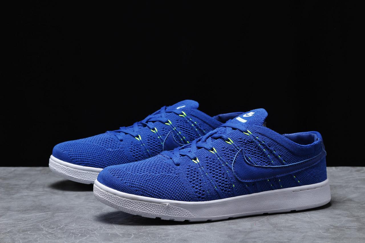 Кроссовки мужские 18083, Nike Tennis Classic Ultra Flyknit, темно-синие, [ 41 42 43 44 45 ] р. 41-26,5см.