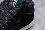 Зимние мужские кроссовки 31753, Puma Suede, черные, [ нет в наличии ] р. 43-28,3см., фото 6