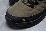 Зимние мужские кроссовки 31773, Columbia Contagrip, зеленые, [ нет в наличии ] р. 41-26,5см., фото 4